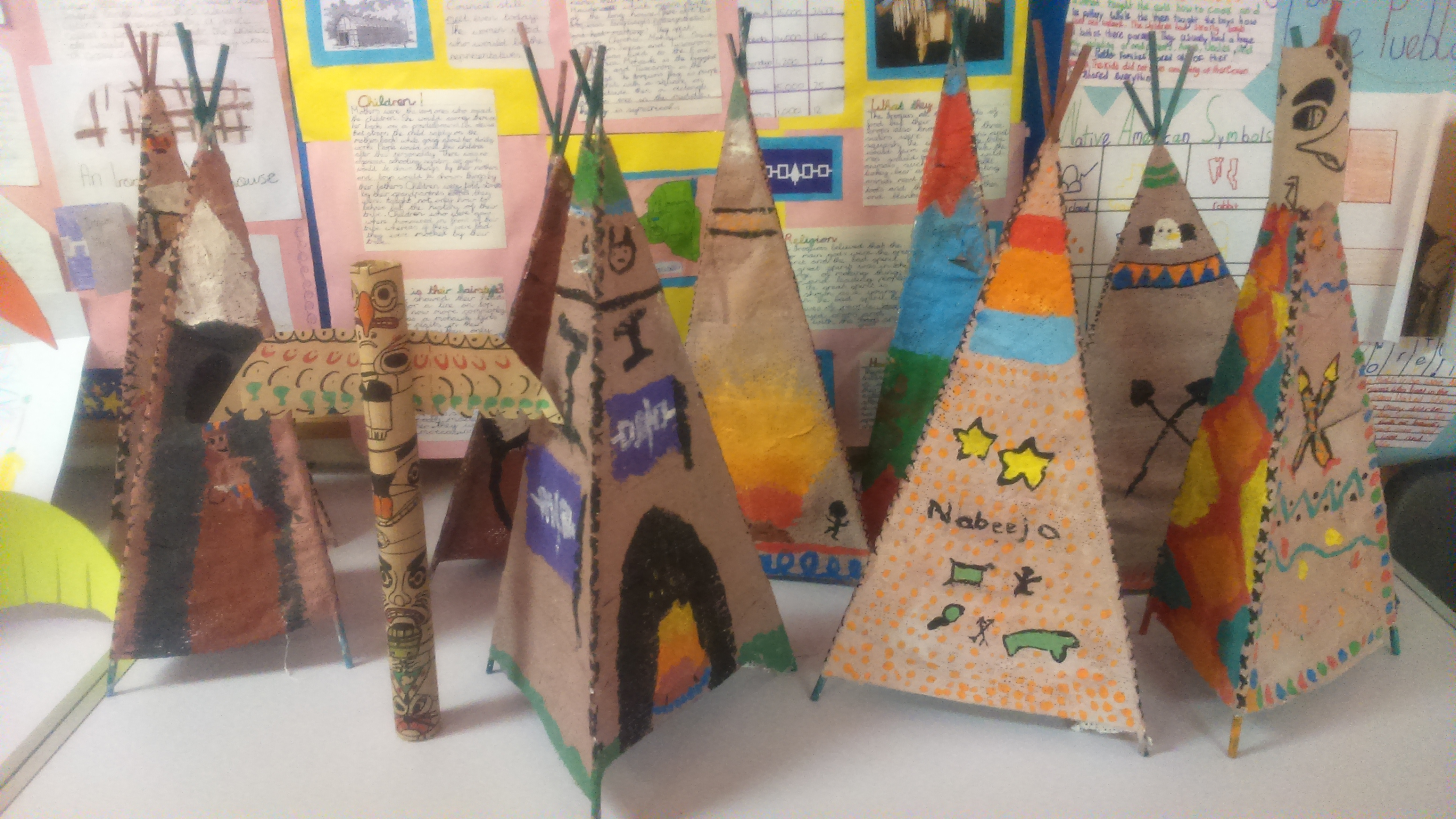 Native American Projects Primrose Hill National School